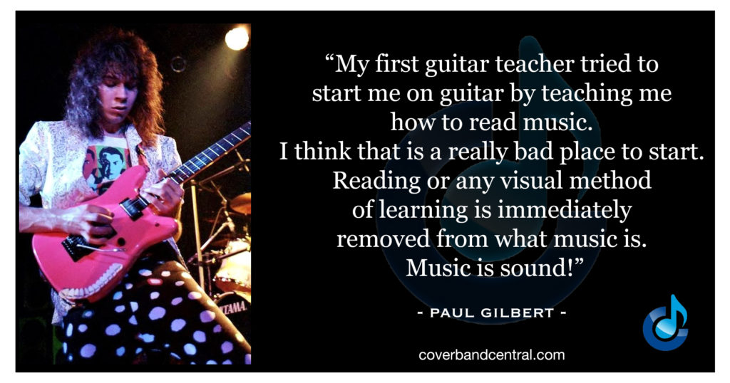 Paul Gilbert quote
