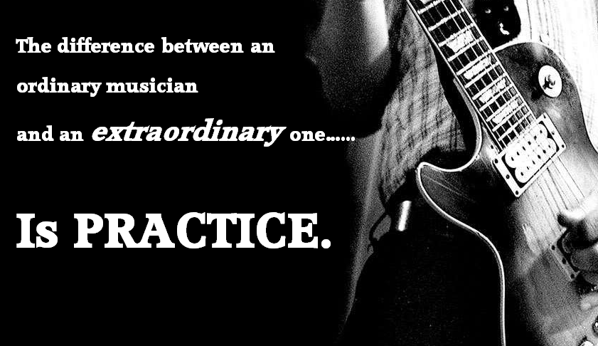 The difference is practice