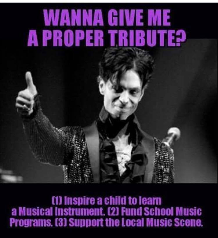 Prince says educate