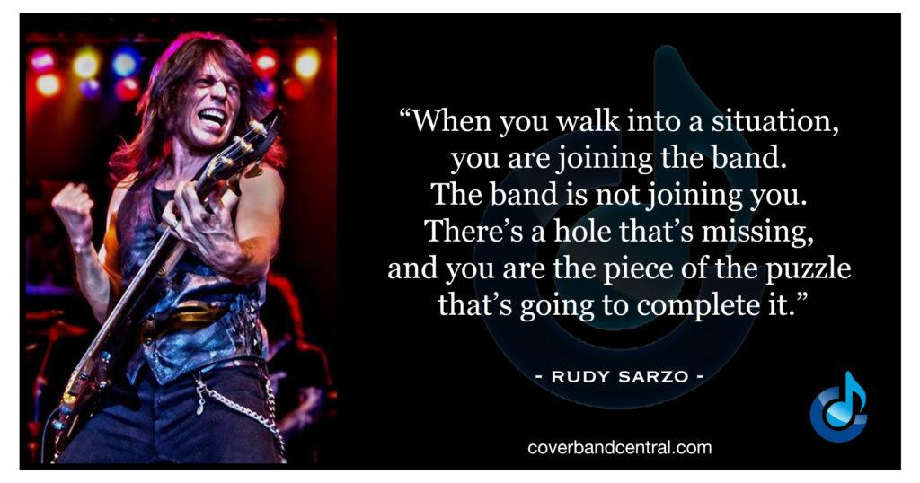 Rudy Sarzo quote