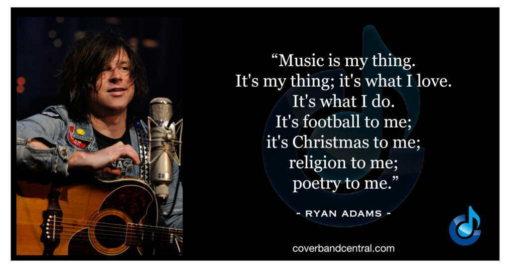 Ryan Adams Quote