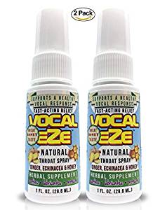 Soothing Throat spray for singers