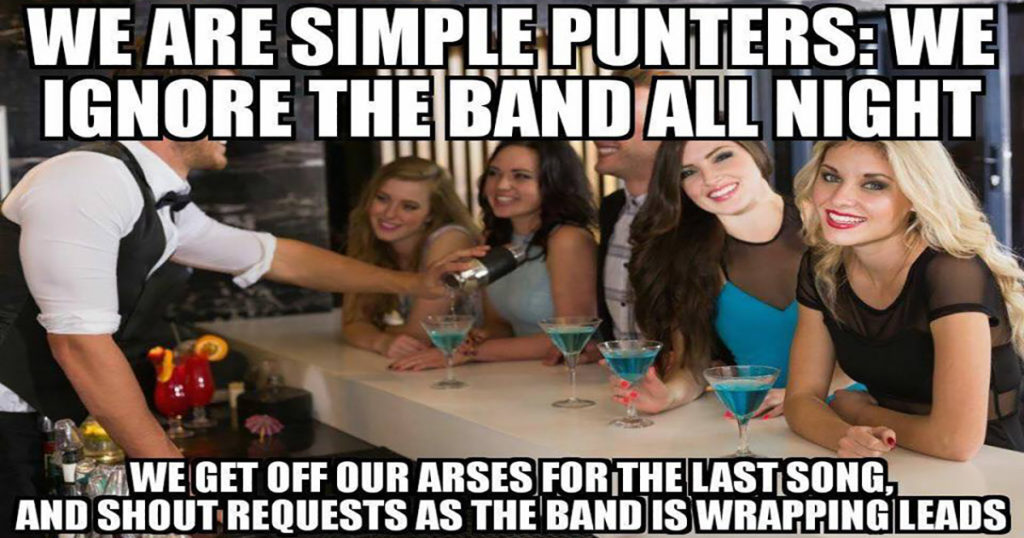 We are simple punters
