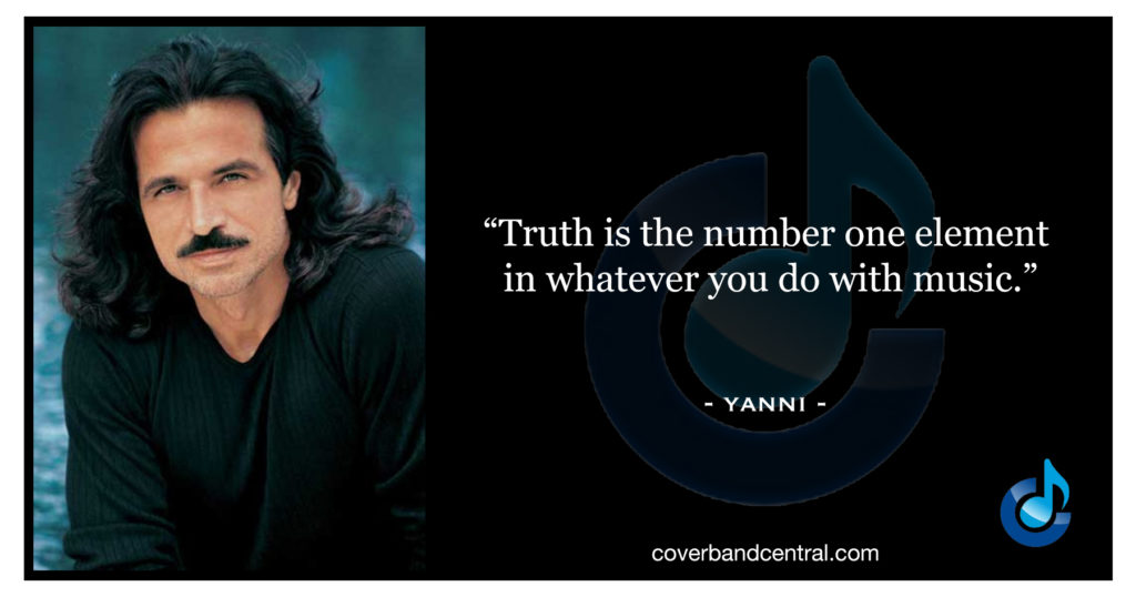 Yanni quote