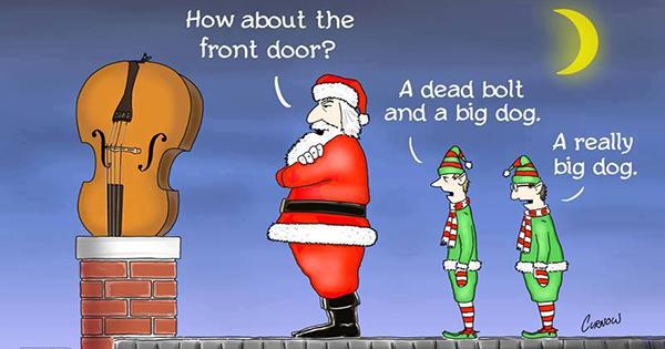 Santa people problems
