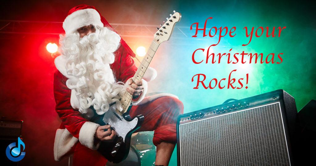 Hope your Christmas rocks