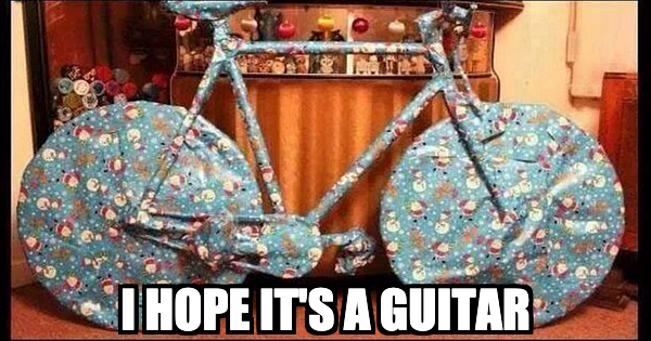 I hope this Christmas gift is a guitar