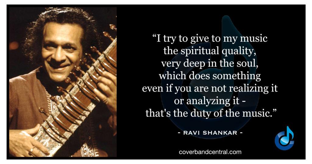 Ravi Shankar quote