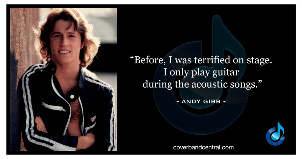Andy Gibb quote